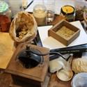 Atelier de fabrication d'encens