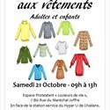 Bourse aux vêtements - Vente solidaire pour adultes et enfants.