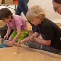 Carré de fouille archéologique : atelier à partir de 6 ans