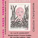 Exposition de l'artiste Cécile Carpena