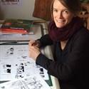 Entrez dans l'atelier d'une dessinatrice BD