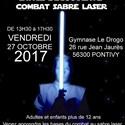 Stage sabre laser
