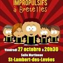"""Cabaret d'improvisation théâtrale """"Les Imprompulsifs à Bretelles"""""""