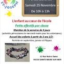 Portes ouvertes école maternelle et primaire Saint-Joseph