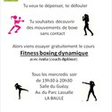 Fitness boxing dynamique