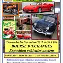 Bourse d'échange autos motos, exposition voitures anciennes