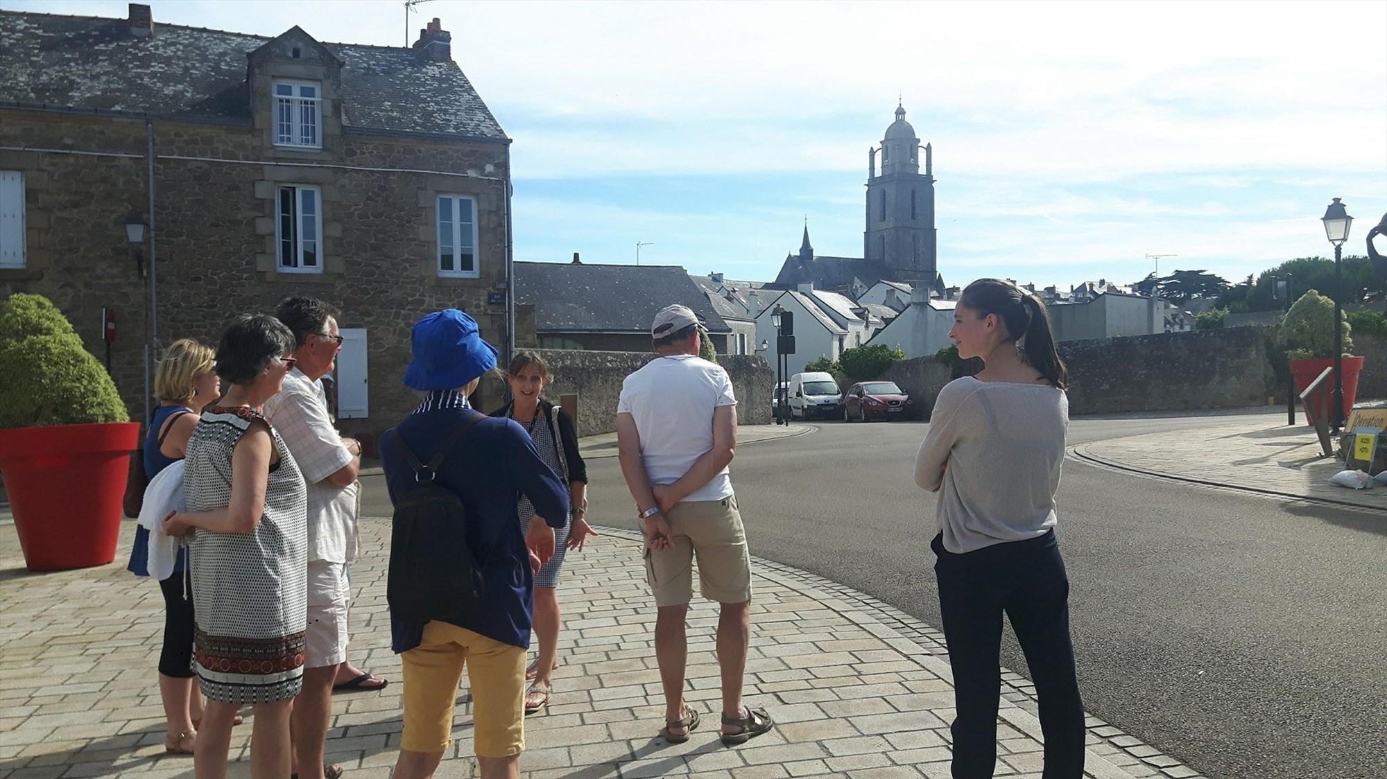 Visite Guide Traditionnelle Du Bourg De Batz Sur Mer
