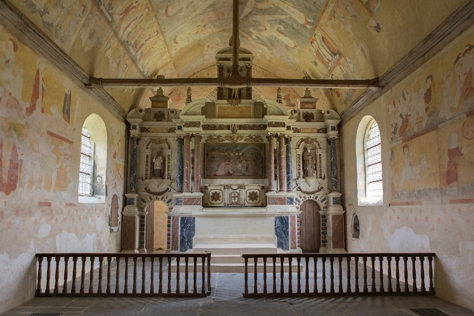 L'église du Vieux-Bourg de Saint-Sulpice-des-Landes © © H. Neveu-Dérotrie