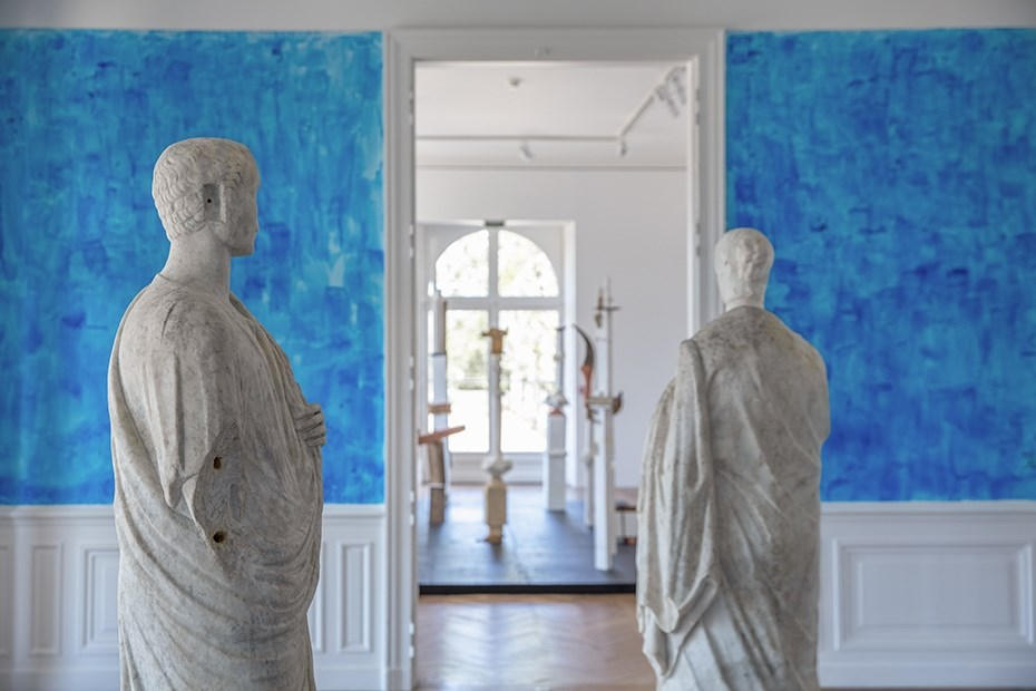 Exposition Comme de Longs Echos © L. Preud'homme / Grand Patrimoine de Loire-Atlantique