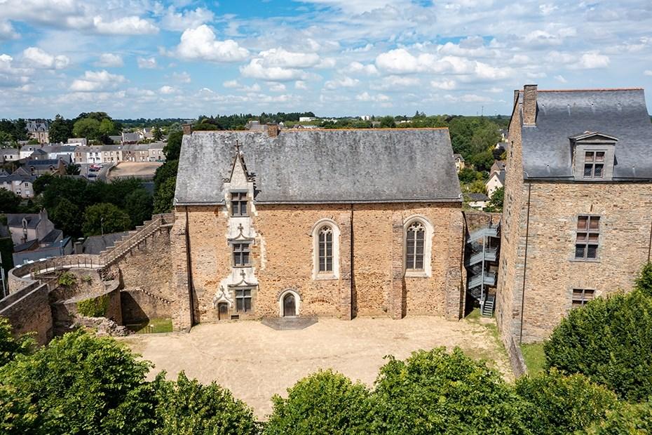 Chapelle du château de Châteaubriant © Paul Pascal/Département de Loire-Atlantique