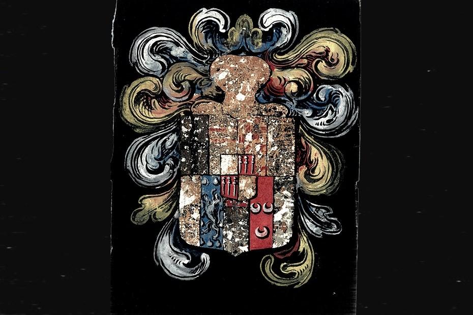 Armes de la maison de Braz, 1635 © ADLA