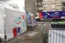 Déchèterie mobile, quartier Le Blosne