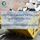 Visite du centre de traitement des déchets Paprec