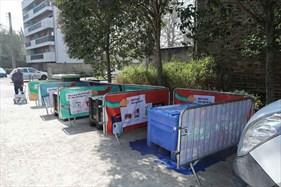 Déchèterie mobile, quartier Cleunay