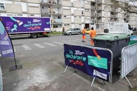 Déchèterie mobile, quartier Villejean
