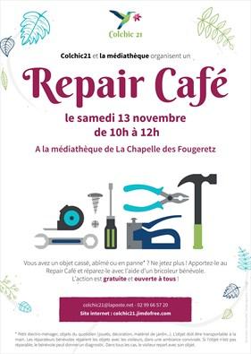 Repair café à la médiathèque